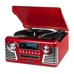 all in one record player