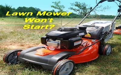 Why Lawnmowers Won't Start?